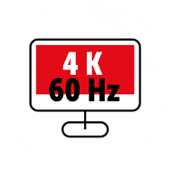 4K ULTRA HD 60 HZ
